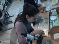 «БашИнком» подарил Кушнаренковской школе  современный кабинет биологии